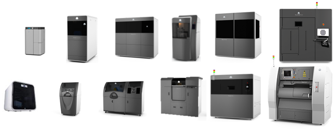 3DSystems 3DPrinters